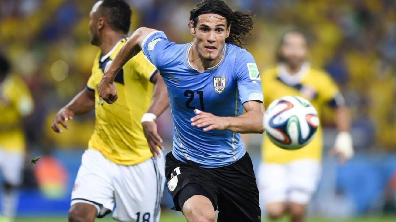 Cavani has scored at the two previous World Cups