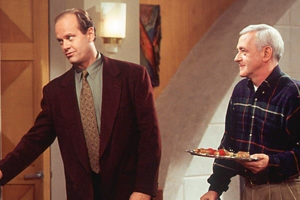 Mahoney played the son of titular character Frasier Crane , played by Kelsey Grammer