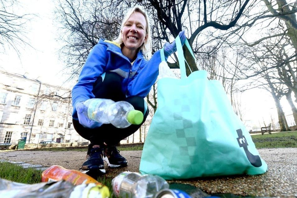 Anna Christopherson and her friends have embraced the Swedish trend of Plogging