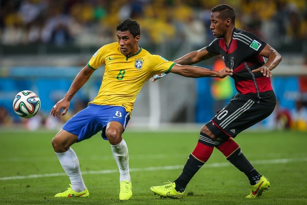 Paulinho was part of the Brazil team beaten 7-1 by Germany at the previous World Cup