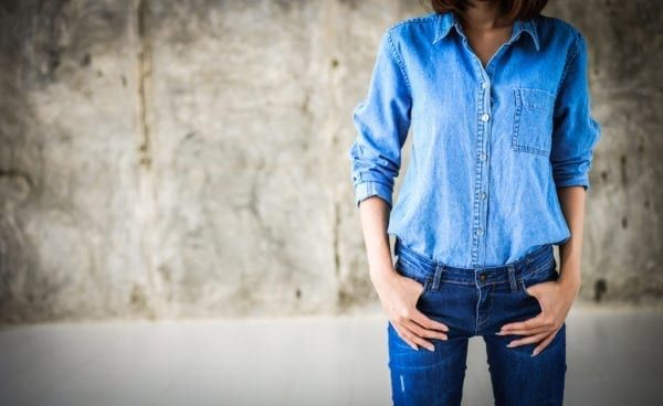 Avoiding clothing such as jeans and tights can help you to keep cooler in warmer temperatures (Photo: Shutterstock)