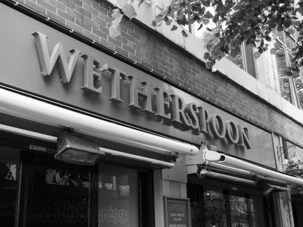JD Wetherspoon pubs across the UK will will take part in the chain's first gin festival (Photo: Shutterstock)