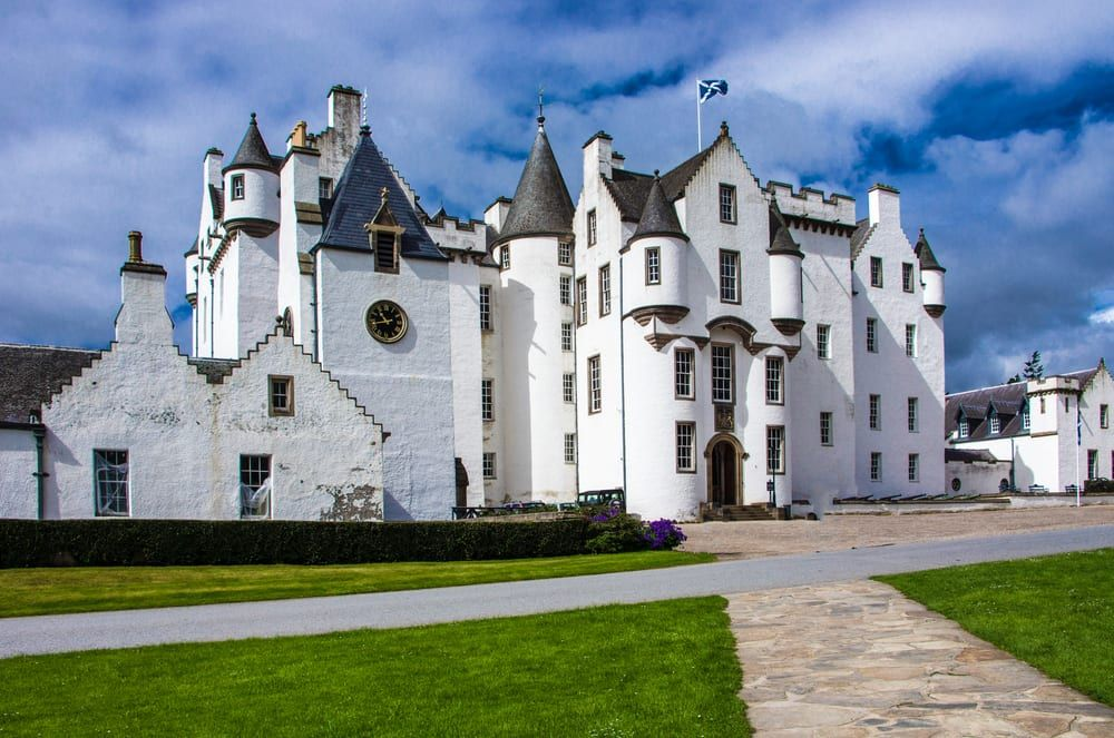 ITV show Victoria was partly filmed at Blair Castle