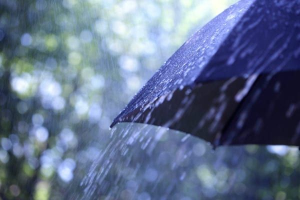 The main band of rain is set to arrive in the early hours of Sunday morning (Photo: Shutterstock)