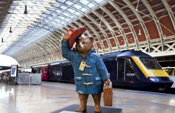 Paddington made his very first appearance in Michael Bond's 'A Bear Called Paddington' on October 13 1958 (Photo: Shutterstock)