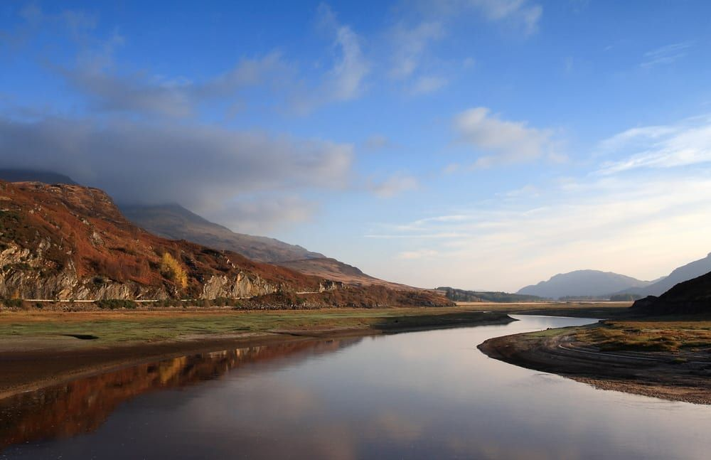 Monarch of the Glen was filmed around the shores of Loch Laggan