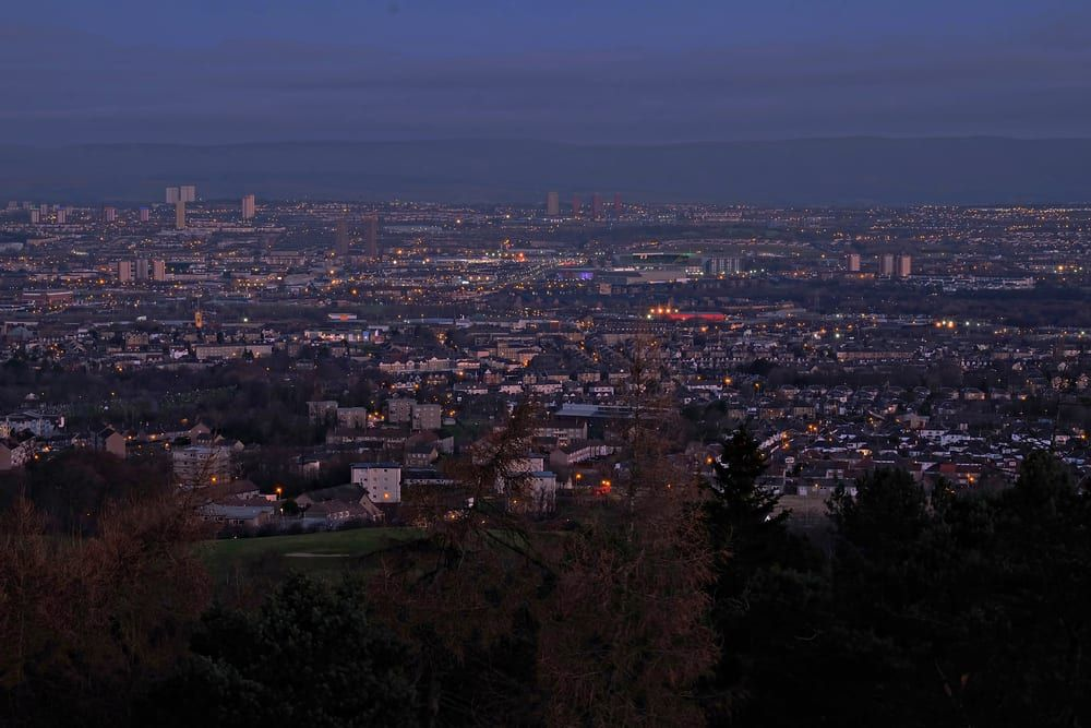 Cathkin Braes is used in the filming of Taggart