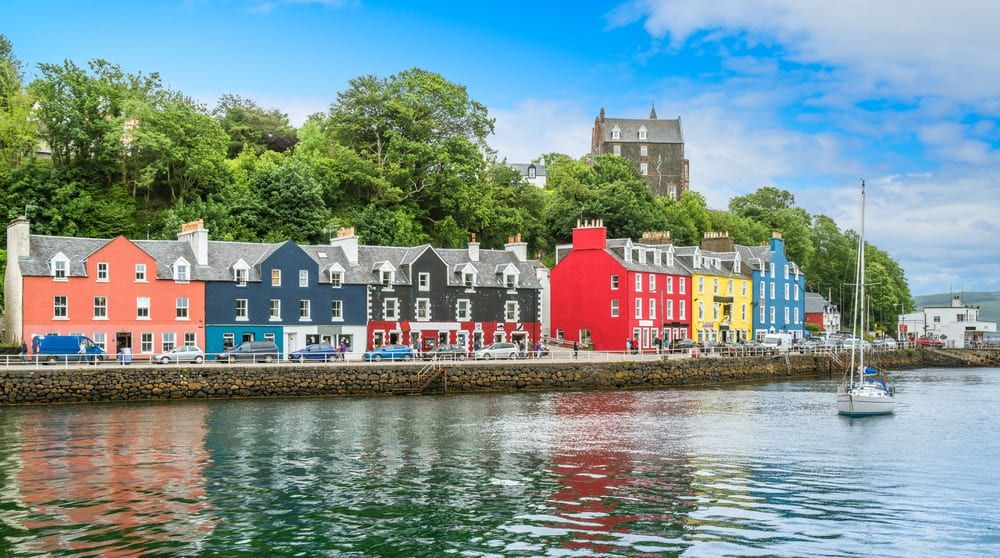 Children's TV show Balemory was filmed in Tobermory