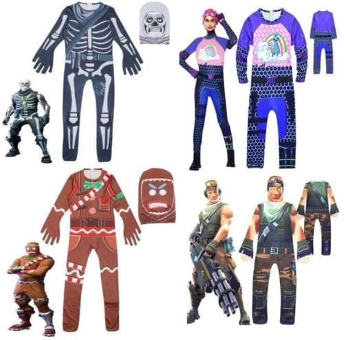 Fortnite Family Halloween Costumes.Fortnite Fans Can Now Buy Halloween Costumes Inspired By The