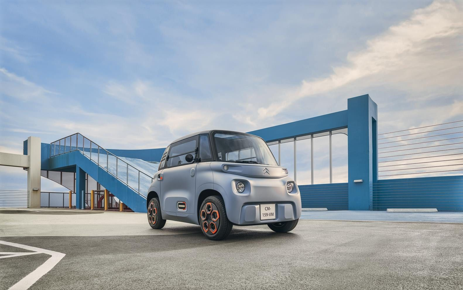 The Citroen Ami is cute two-seat city EV that will cost £17 a month