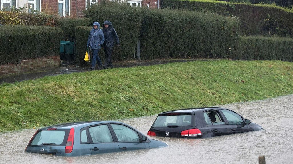 Car buyers urged to be wary of flood-damaged 'bargains'