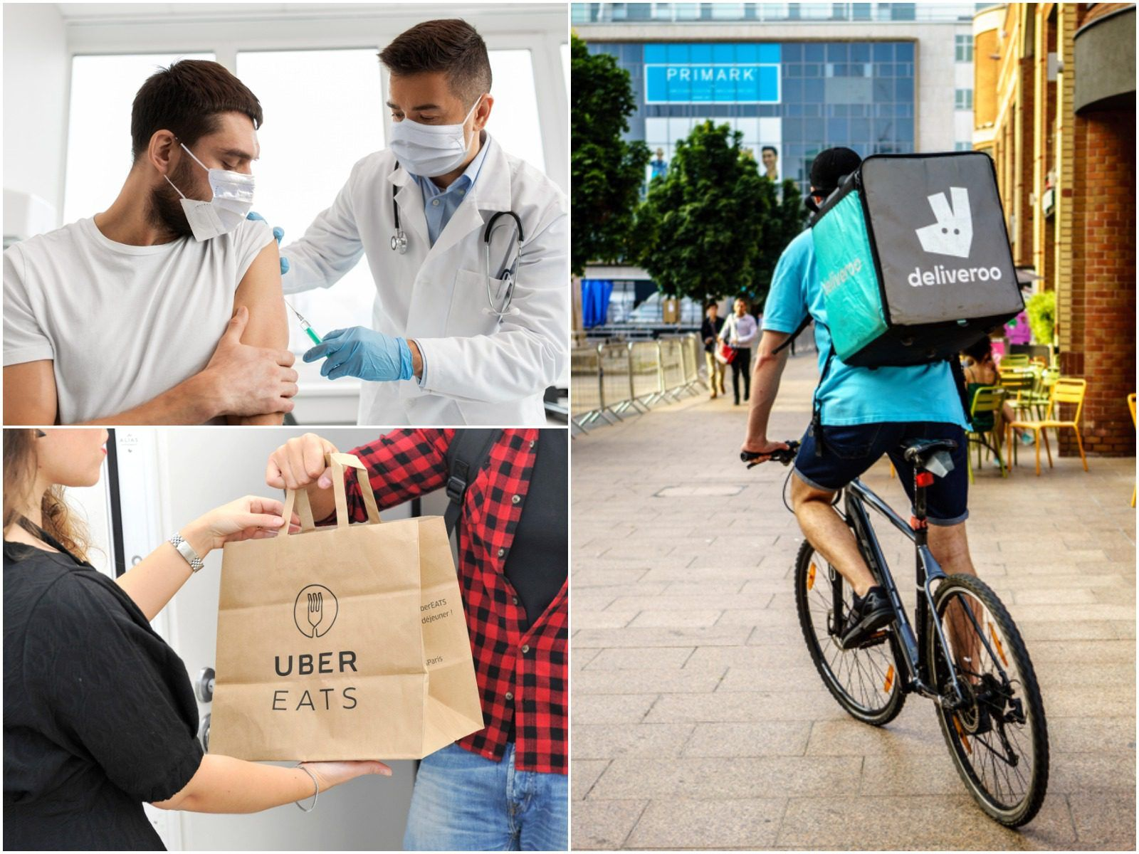 Food delivery and taxi firms to offer incentives to boost Covid vaccine uptake