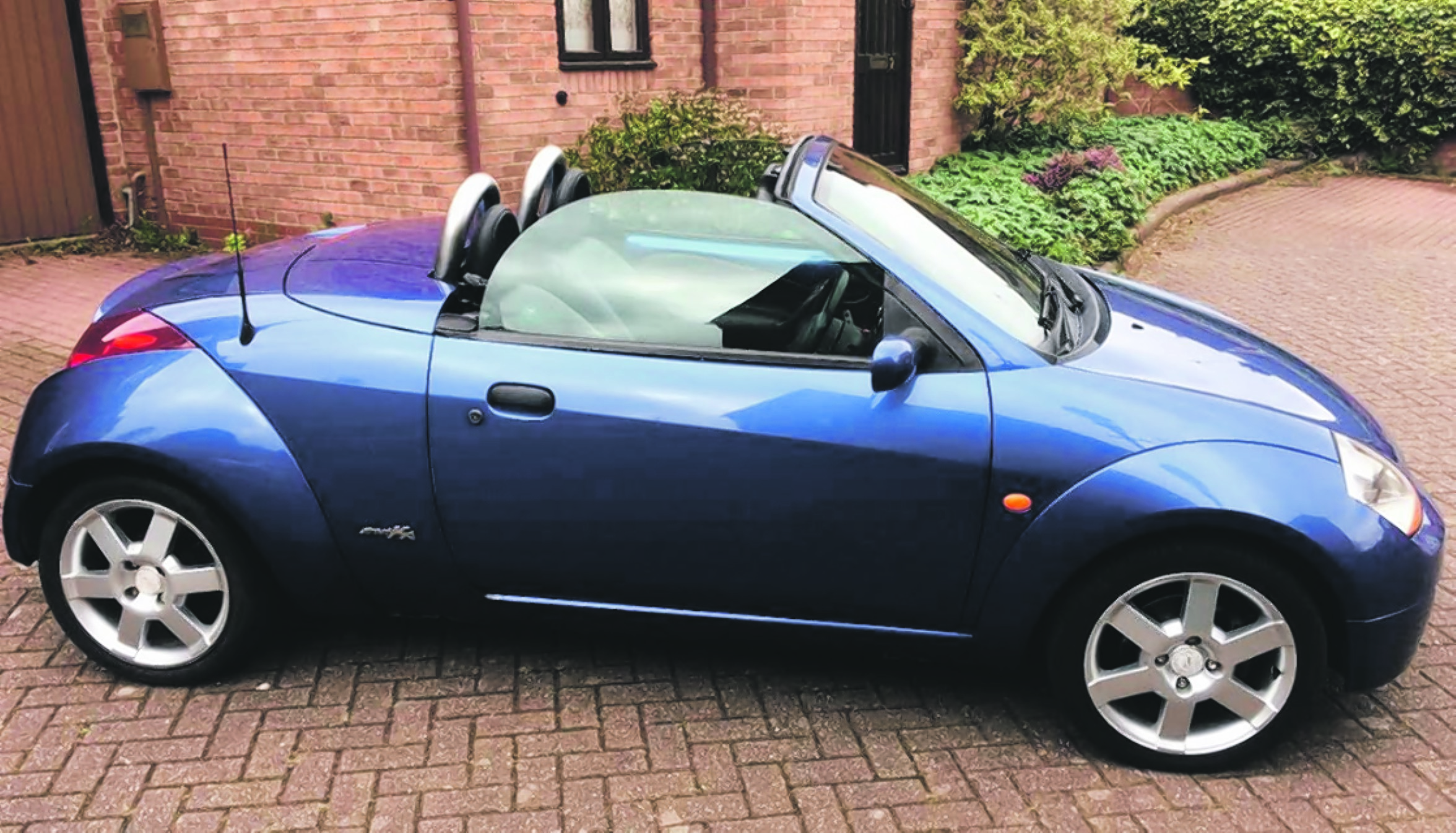 FORD STREETKA CONVERTIBLE LUXURY 2003