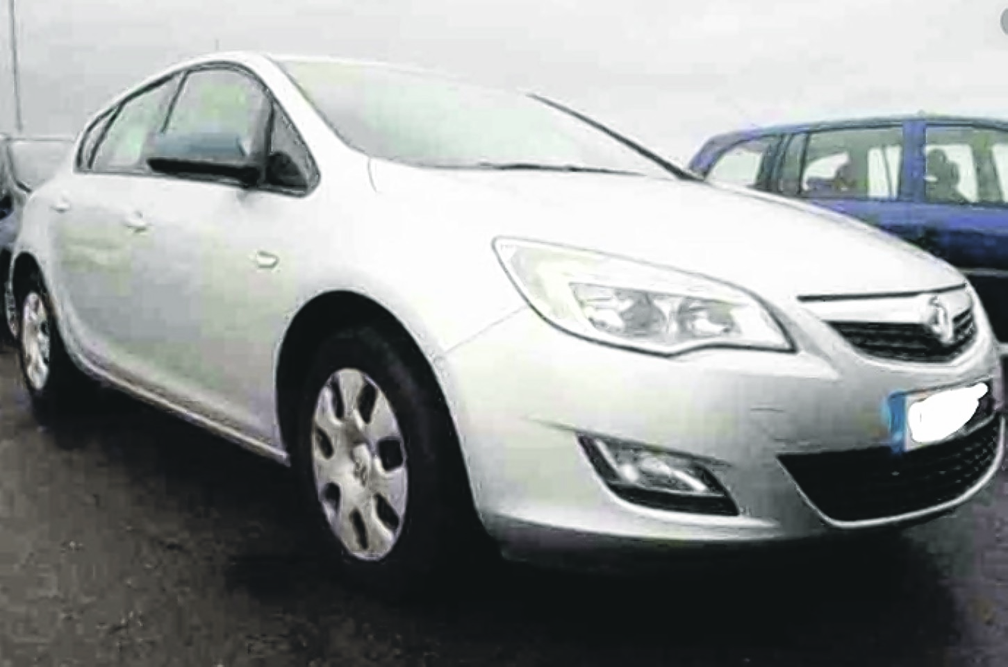 VAUXHALL ASTRA EXCLUSIVE 98 EXCLUSIV 98 2011