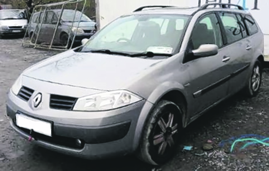 Renault Megane Estate . 2005