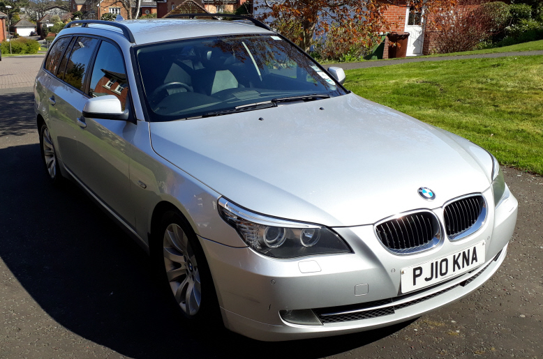 BMW 520D SE BUS EDITION AUTO 2010